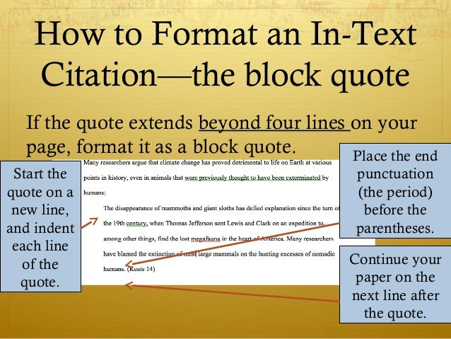 example of block quote mla 7th