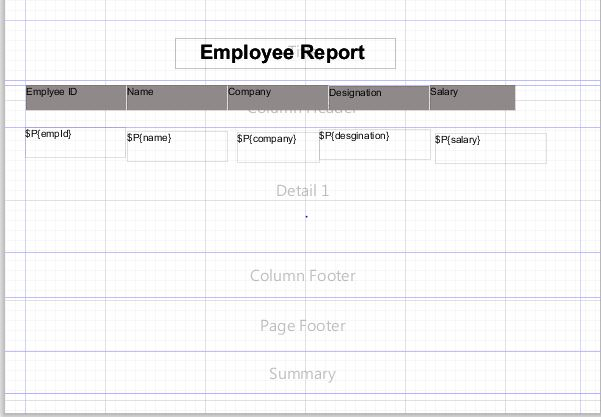 jasper report variable expression example