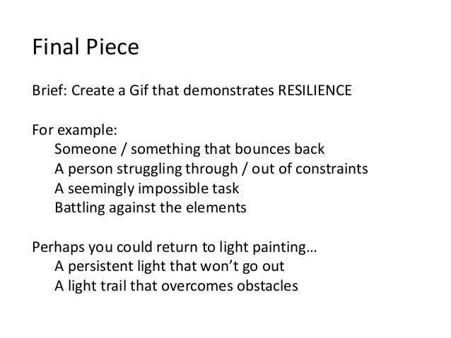 resilience in the workplace example