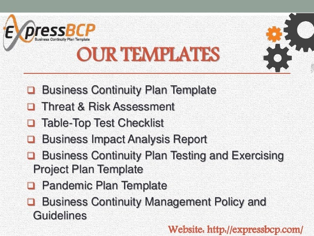 example of business continuity plan success