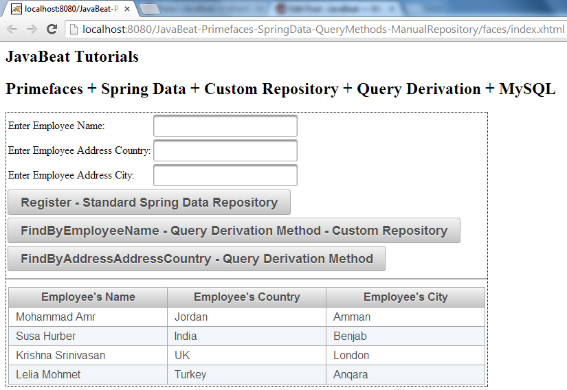 query by example spring data
