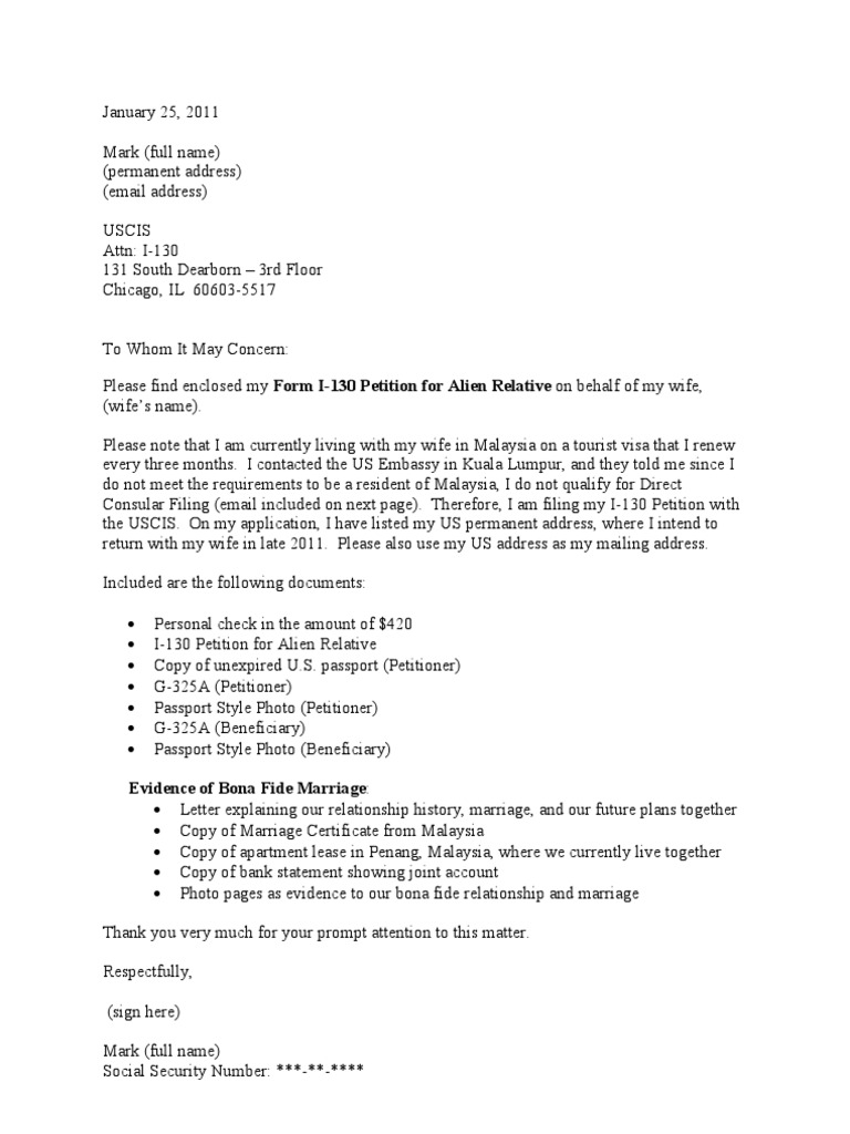 osap letter of financial explanation example