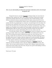 ib english written assignment example