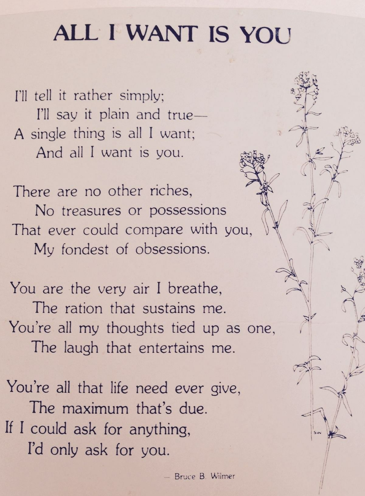 example of love poems for her