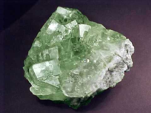 the mineral fluorite is an example of