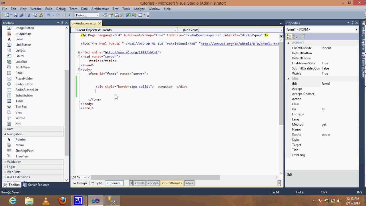 difference between div and span tag in html with example