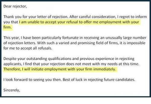 best way to decline a job offer example