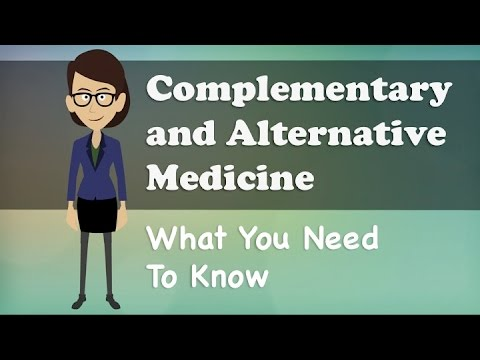 what is an example of an alternative therapy