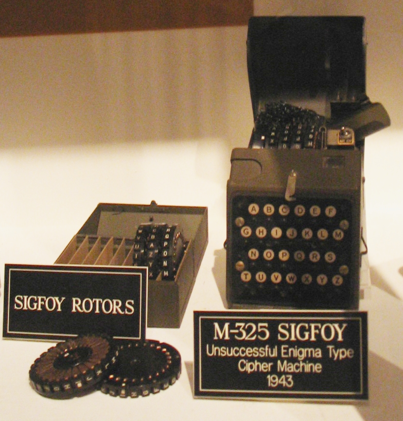 rotor machine in cryptography example