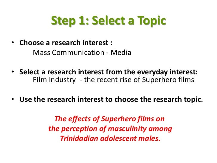 thesis proposal literature review example