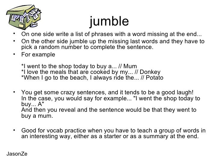 pass the message game example phrases