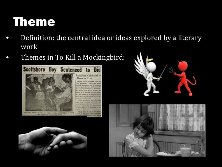 theme literary definition and example