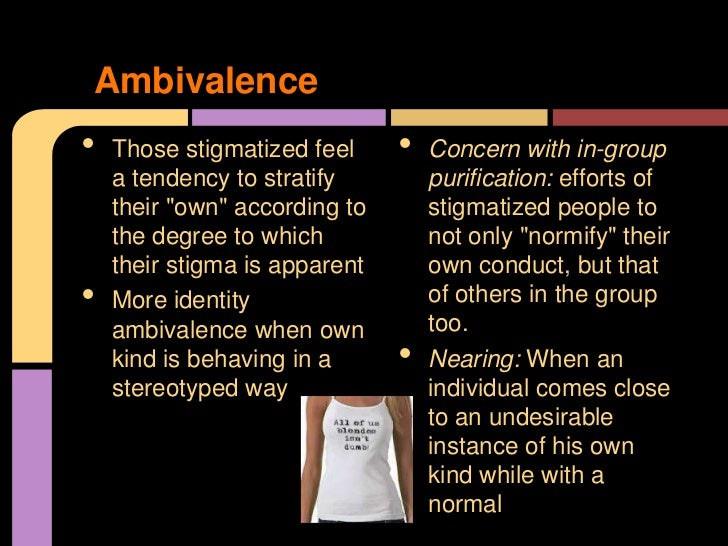 social stigma definition and example