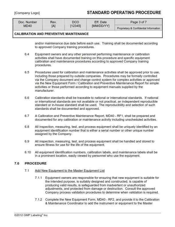 essential requirements checklist medical devices example
