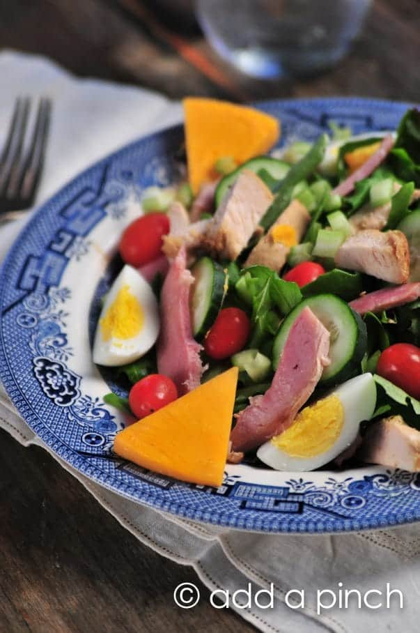 example of appetizer salad with ingredients and procedure