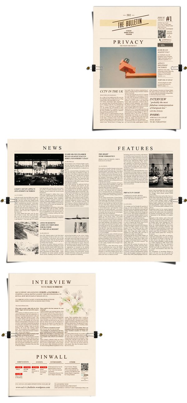example of editorial page in newspaper
