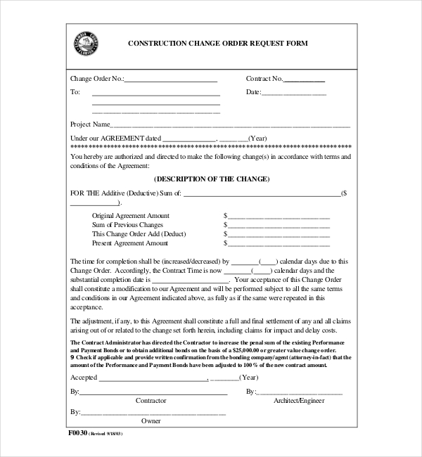 design and construct contract example