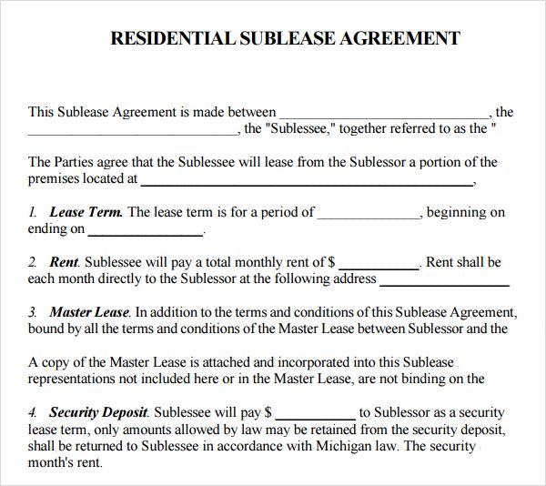 example agreement to protect interest in property ontario