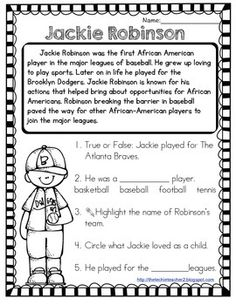 example essay on comparing jefferson to jackie robinson