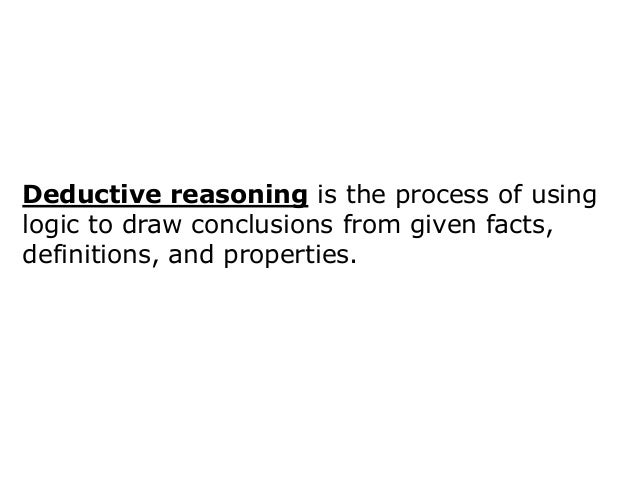 example of inductive reasoning in logic