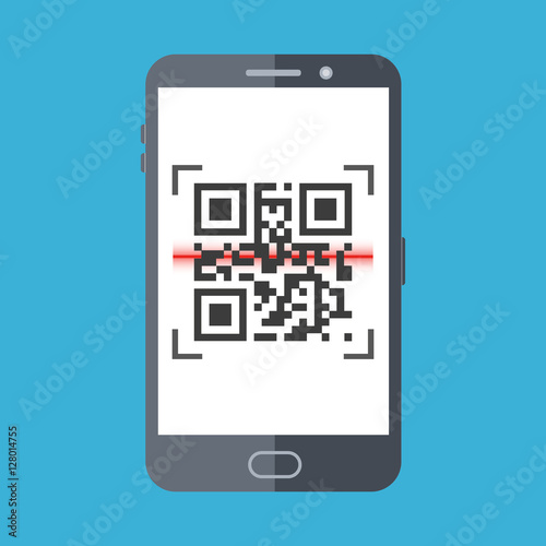 example of qr scanner on phone