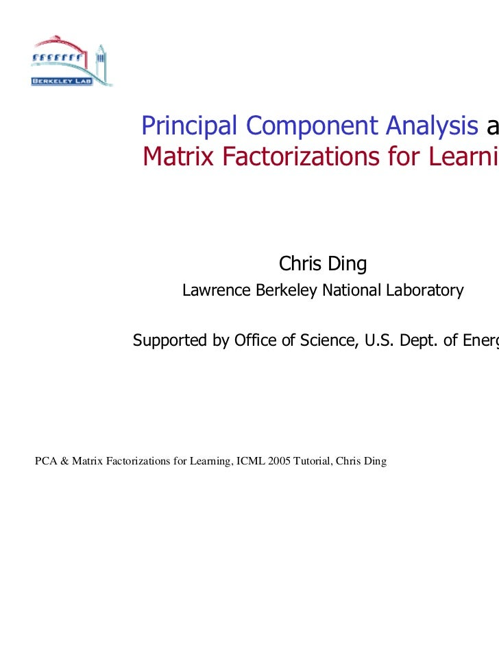 principal component analysis in r example