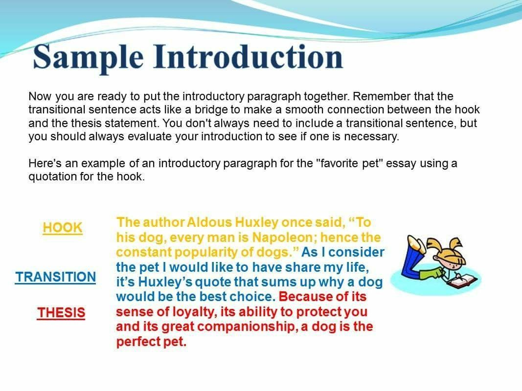 how to start an essay with a quote example