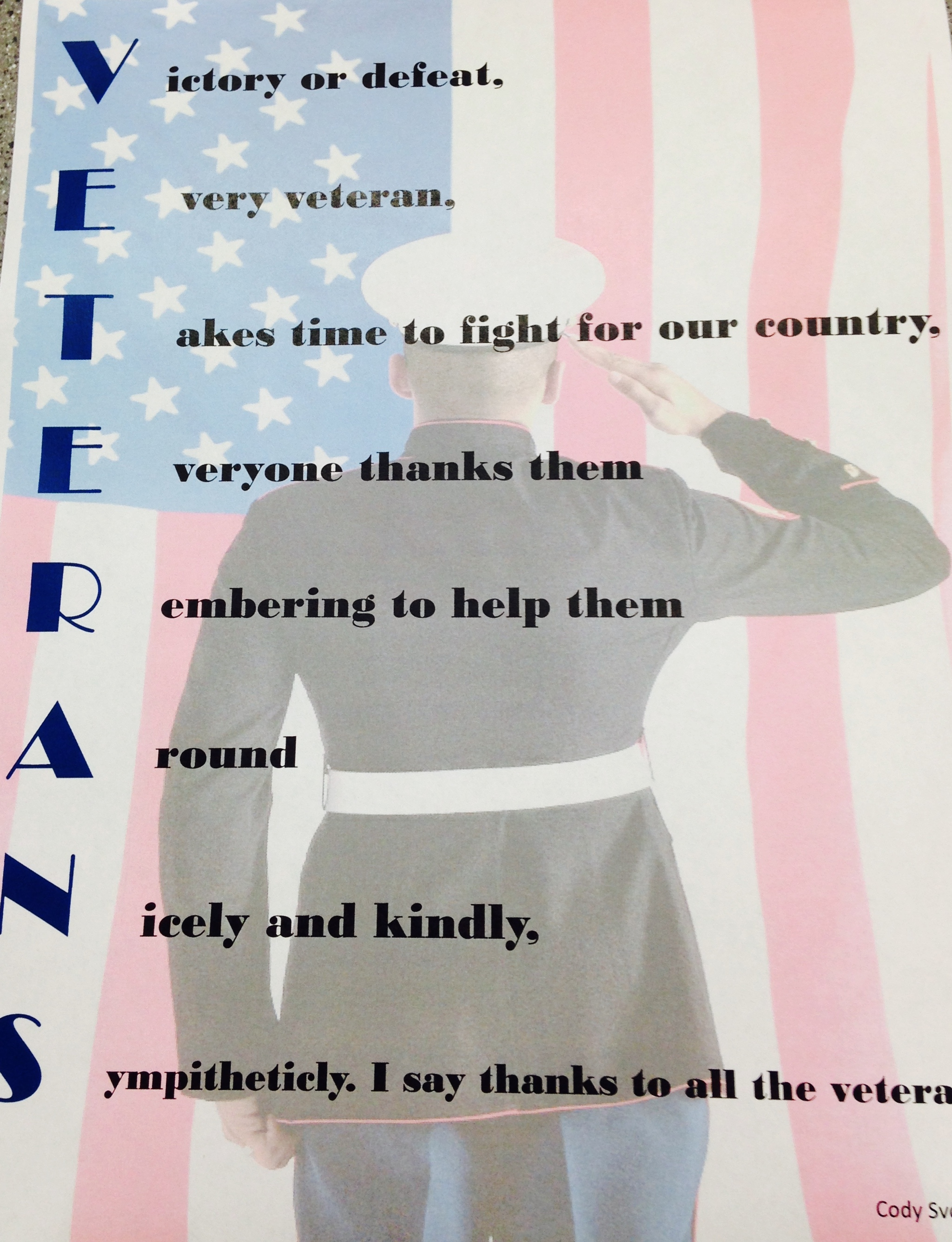 remembrance day acrostic poem example