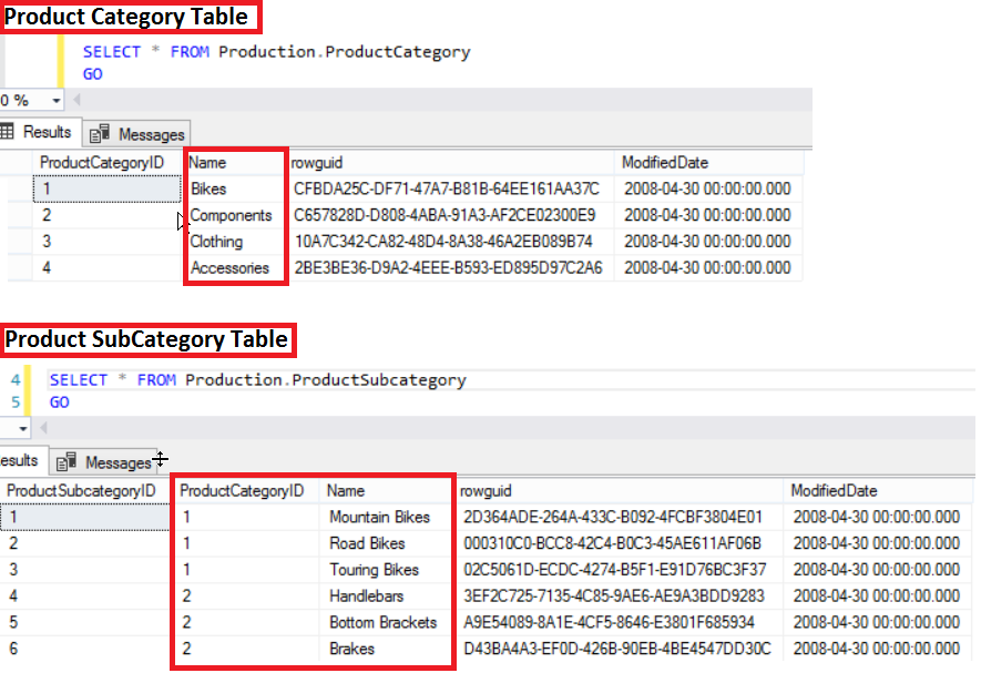 sql server select into example